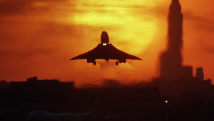 The movie's second-unit director won a bet with De Palma after pulling off this shot of an airplane landing (Photo: Warner Bros.)