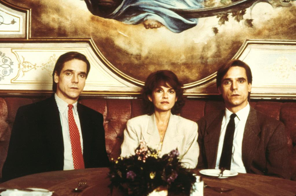 "<a href=""http://movies.yahoo.com/movie/1800054673/info"">DEAD RINGERS</a> (1988)  Actor: <a href=""http://movies.yahoo.com/movie/contributor/1800020968"">Jeremy Irons</a>  Characters: Creepy gynecologist Beverly Mantle and his slightly less creepy twin brother Eliot."
