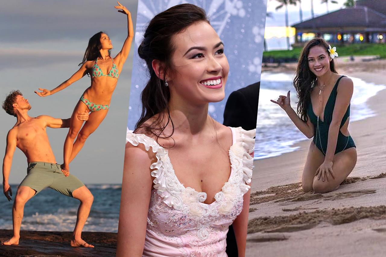 <p>Meet Team USA ice dancer Madison Chock. </p>