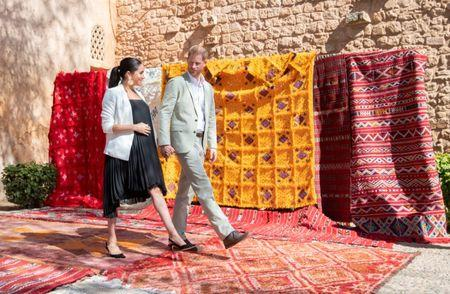 FILE PHOTO: Duke and Duchess of Sussex visit Morocco