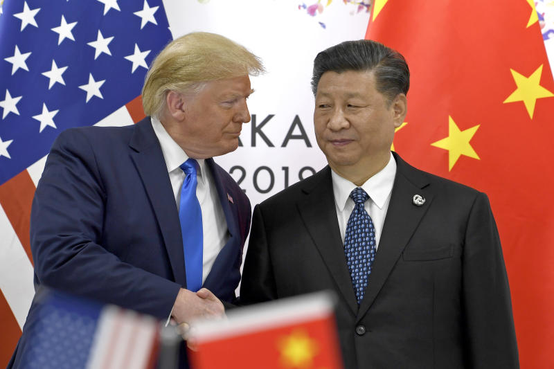 Trump's comments regarding Xi Jinping (right) has angered China. Source: AAP