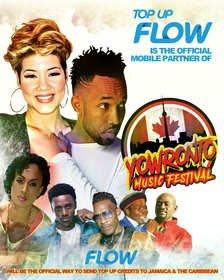 Flow Connects with the Caribbean Diaspora at the YOWronto Music Festival in Canada