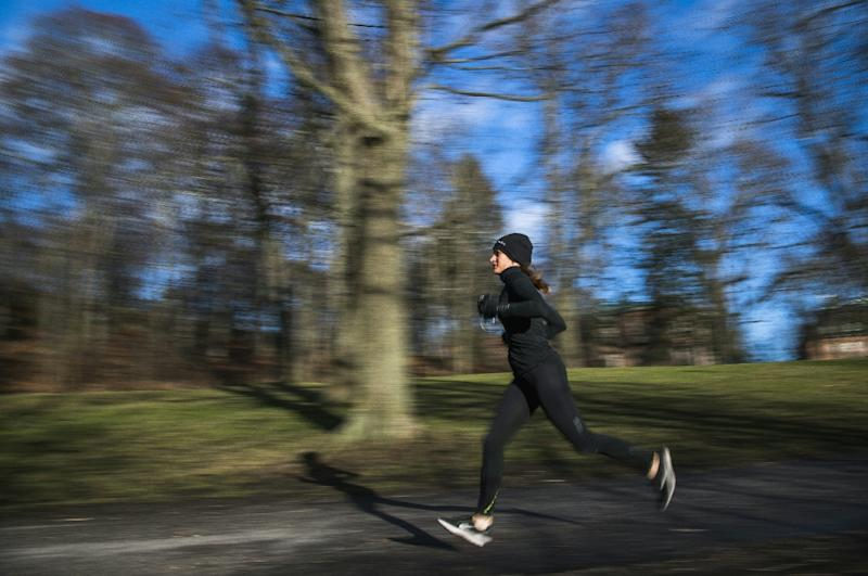 """""""In Sweden there's this idea that you'll be healthy, strong and happy if you get a lot of exercise, if you spend a lot of time in nature,"""" says researcher Carl Cederstrom (AFP Photo/Jonathan NACKSTRAND)"""