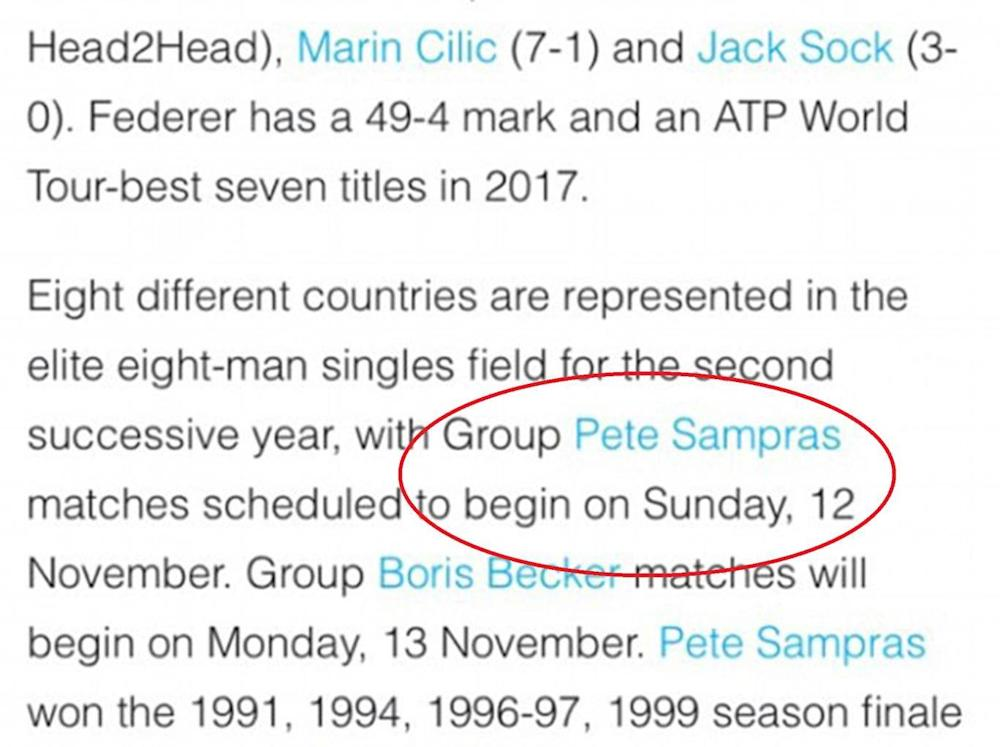 The ATP website before it was changed (Twitter @lukecolwill)