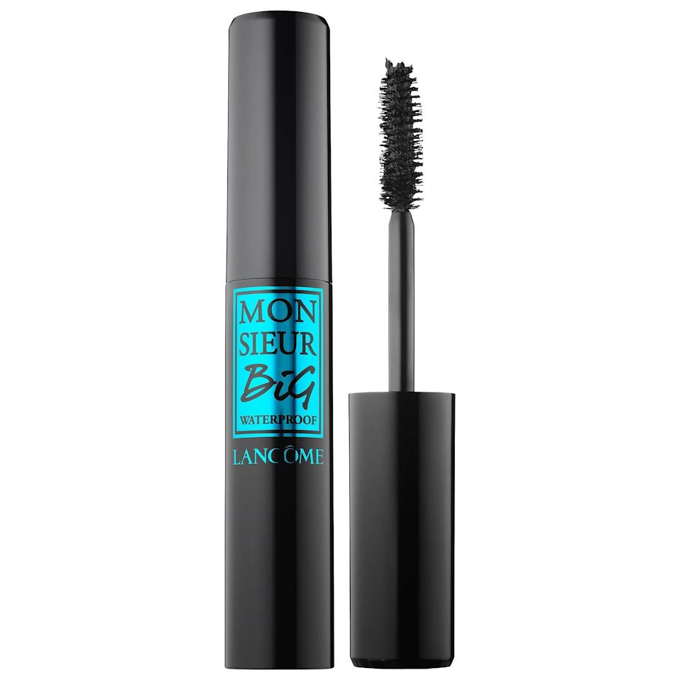 <p><span>Lancôme Monsieur Big Waterproof Mascara</span> ($26) has a thick, large brush that gives you high-volume, intense lashes. That, coupled with the waterproof formula, makes this one a best-seller.</p>