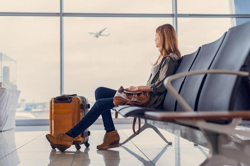 Give yourself plenty of time to make your flight. Photo: Getty