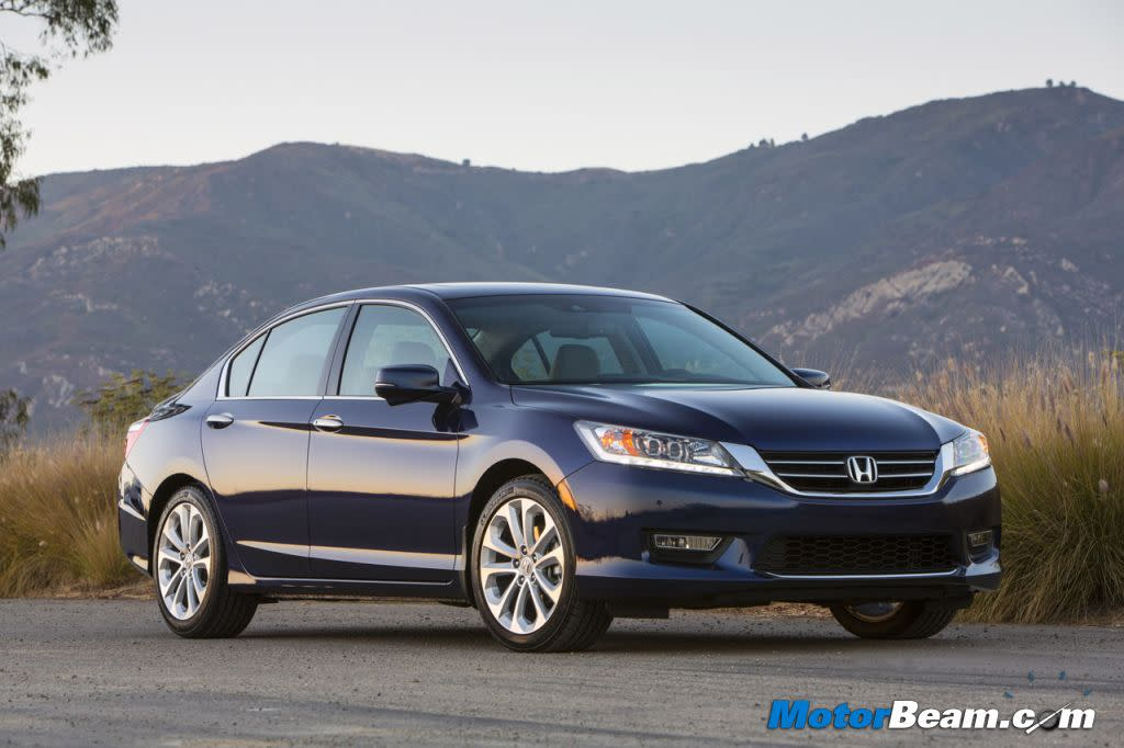The new Honda Accord will be launched in India by May 2013. It will still not get a diesel engine.