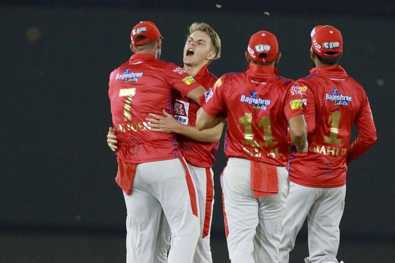 The KXIP team members (picture courtesy: BCCI/iplt20.com)