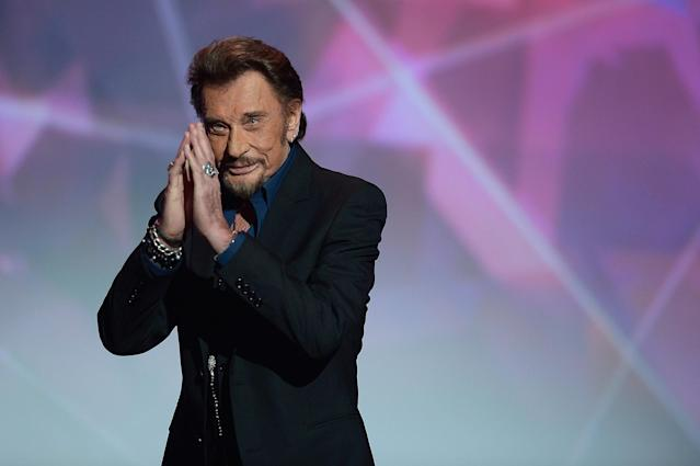 <p>Johnny Hallyday was a French singer who was credited for having popularized rock 'n' roll in that country. He died Dec. 5 of lung cancer. He was 74.<br>(Photo: Getty Images) </p>