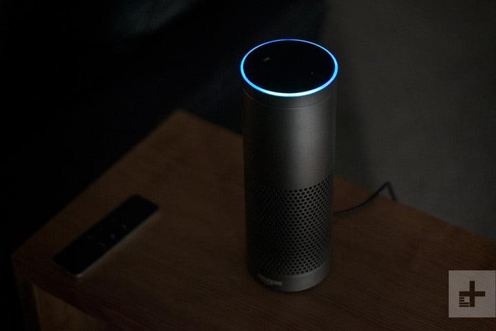 amazon echo in the dark