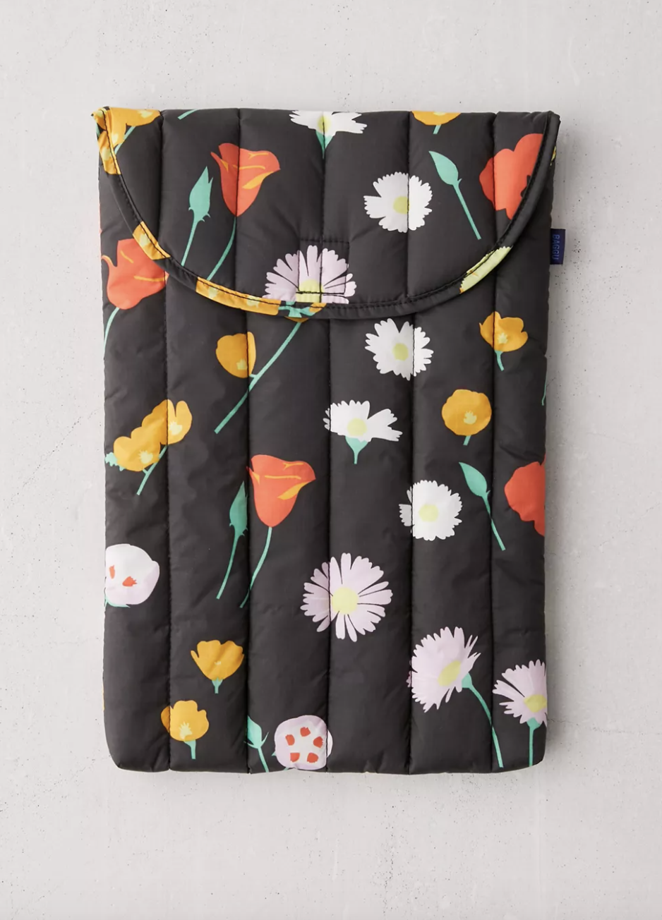 """<br><br><strong>Baggu</strong> BAGGU Puffy 16"""" Laptop Sleeve, $, available at <a href=""""https://go.skimresources.com/?id=30283X879131&url=https%3A%2F%2Fwww.urbanoutfitters.com%2Fshop%2Fbaggu-puffy-16-laptop-sleeve"""" rel=""""nofollow noopener"""" target=""""_blank"""" data-ylk=""""slk:Urban Outfitters"""" class=""""link rapid-noclick-resp"""">Urban Outfitters</a>"""