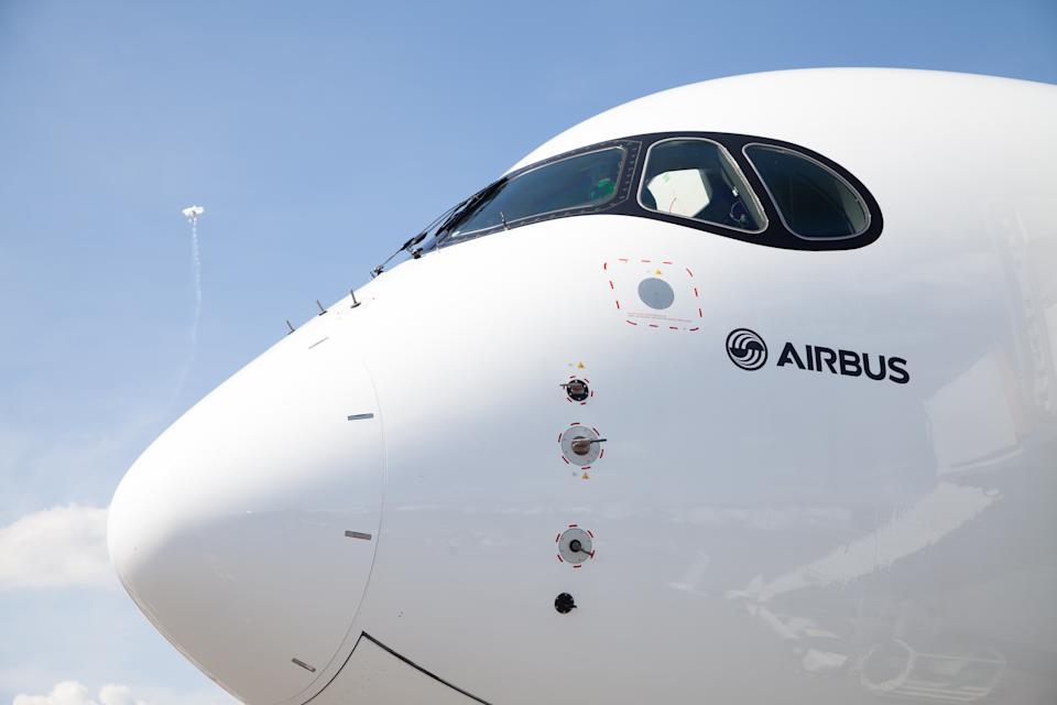 So far this year, Airbus has sold 379 planes or a net total of 300 after cancellations. Photo: Getty