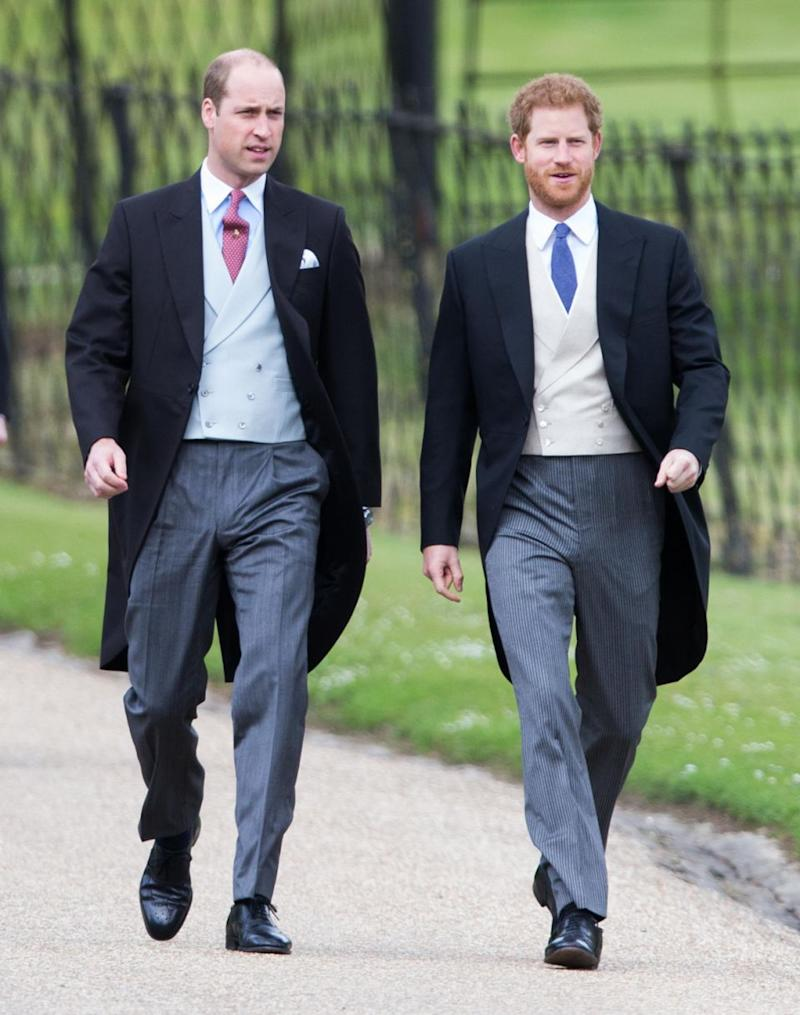 Prince William will have to leave Prince Harry's wedding early. Photo: Getty Images