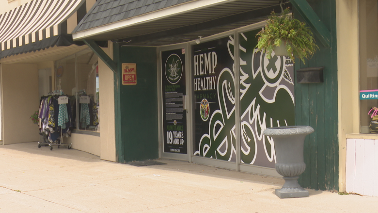 Essex pot shop being investigated by OPP for selling cannabis without required prescription