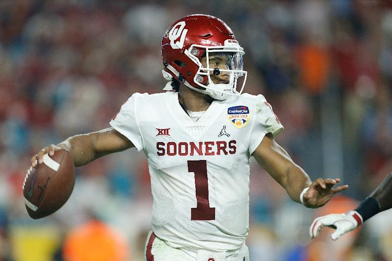 84b7d4e600f63 Oklahoma University star quarterback Kyler Murray is considered the likely  top choice for the Arizona Cardinals