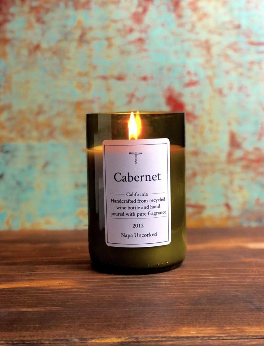 <p>When a love for wine and the environment comes together, you get this <span>Cabernet Candle</span> ($8 and up)</p> <p>.</p>