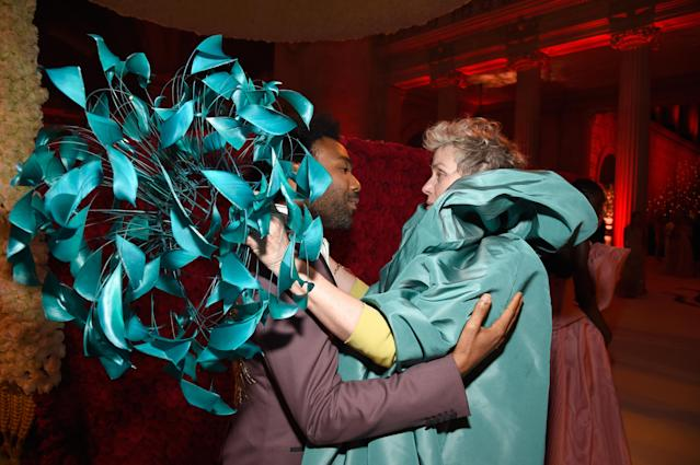 Frances McDormand and Donald Glover (Photo: Getty Images)