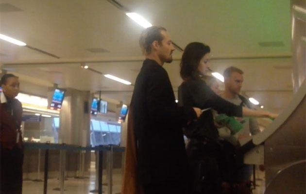 Daniel and Michelle arrived in LA over the weekend. Source: Diimex