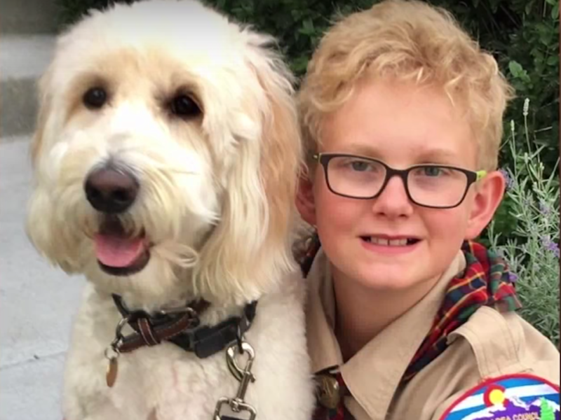 Ames Mayfield was kicked out of his Cub Scouts den after asking his senator pointed questions: Denver 7