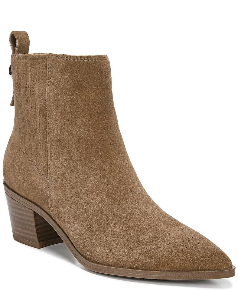 """<p>These <a href=""""https://www.popsugar.com/buy/Franco-Sarto-Shay-Western-Booties-500923?p_name=Franco%20Sarto%20Shay%20Western%20Booties&retailer=macys.com&pid=500923&price=130&evar1=fab%3Aus&evar9=46625527&evar98=https%3A%2F%2Fwww.popsugar.com%2Fphoto-gallery%2F46625527%2Fimage%2F46754416%2FFranco-Sarto-Shay-Western-Booties&list1=shopping%2Cfall%20fashion%2Cshoes%2Cboots%2Cfall%2Cmacys&prop13=api&pdata=1"""" rel=""""nofollow"""" data-shoppable-link=""""1"""" target=""""_blank"""" class=""""ga-track"""" data-ga-category=""""Related"""" data-ga-label=""""https://www.macys.com/shop/product/franco-sarto-shay-western-booties?ID=9361003&amp;CategoryID=25122"""" data-ga-action=""""In-Line Links"""">Franco Sarto Shay Western Booties</a> ($130, originally $149) come in seven different shades.</p>"""