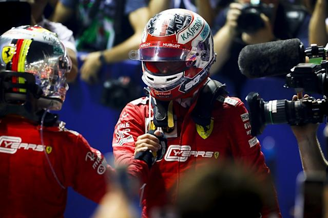 Ferrari: Letting Vettel win in Singapore was key