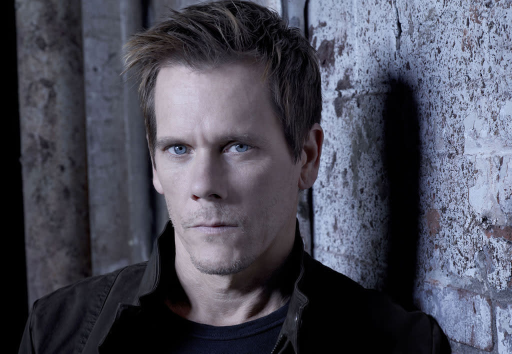 "Kevin Bacon as Ryan Hardy in ""The Following"" on Fox."