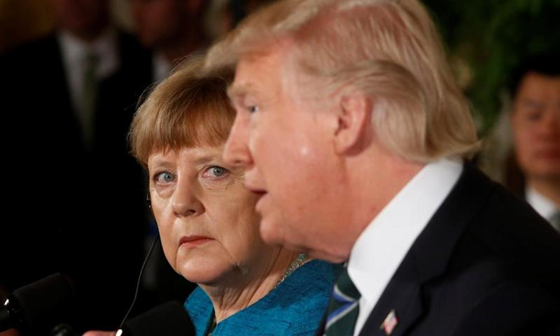 Angela Merkel on her relationship with Donald Trump: 'People are different. People have different abilities, different origins … That is diversity. That is good.'