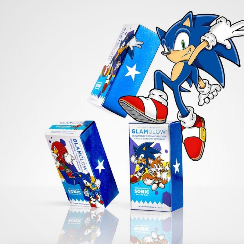 Glamglow Released Three New Designs For Their Sonic The Hedgehog Mask And You Re Going To Want To Collect Them All