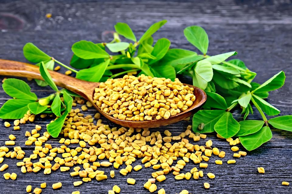 Another common herb with a proven track record of relieving period pain is Methi (fenugreek)
