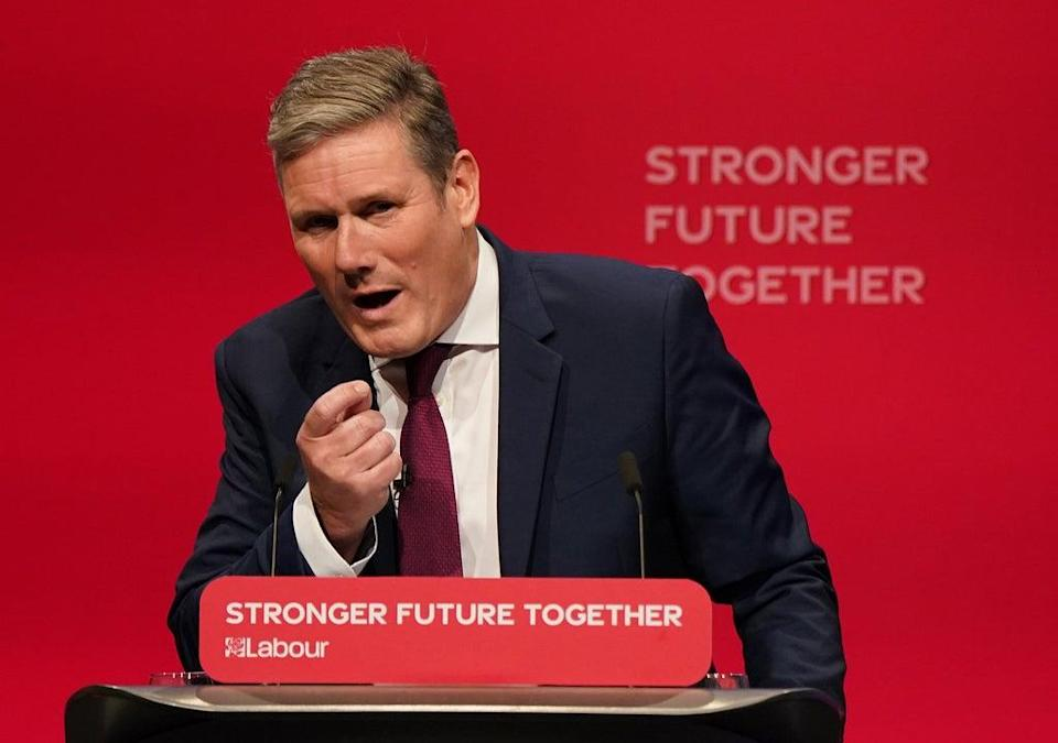 Labour party leader Sir Keir Starmer (Andrew Matthews/PA) (PA Wire)