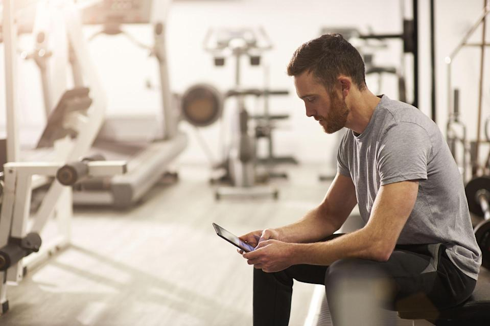 """<p>As pubs, restaurants and gyms close, our attention is turning to how we can stay fit, healthy and happy at home. While we've published our most popular <a href=""""https://www.menshealth.com/uk/building-muscle/a754099/the-15-best-beginners-exercises-to-do-at-home/"""" rel=""""nofollow noopener"""" target=""""_blank"""" data-ylk=""""slk:home workouts"""" class=""""link rapid-noclick-resp"""">home workouts</a> — <a href=""""https://www.menshealth.com/uk/building-muscle/g749892/beginners-home-workout/"""" rel=""""nofollow noopener"""" target=""""_blank"""" data-ylk=""""slk:you can find the ideal beginner session here"""" class=""""link rapid-noclick-resp"""">you can find the ideal beginner session here</a> and <a href=""""https://www.menshealth.com/uk/bodyweight-exercises/"""" rel=""""nofollow noopener"""" target=""""_blank"""" data-ylk=""""slk:bodyweight sessions"""" class=""""link rapid-noclick-resp"""">bodyweight sessions</a> — sometimes you need some added motivation to get into your <a href=""""https://www.menshealth.com/uk/gym-wear/a28935898/gym-clothes-for-men/"""" rel=""""nofollow noopener"""" target=""""_blank"""" data-ylk=""""slk:gym clothes"""" class=""""link rapid-noclick-resp"""">gym clothes</a>. Which is why we've assembled a group of our favourite at-home workout apps, to help you keep burning fat and building muscle in the (dis) comfort of your own home. Thankfully we've done the heavy lifting for you below. All you need to do is pick your poison and get sweating. </p>"""