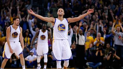 Reigning NBA MVP Stephen Curry is available to return to the Warriors on Monday.