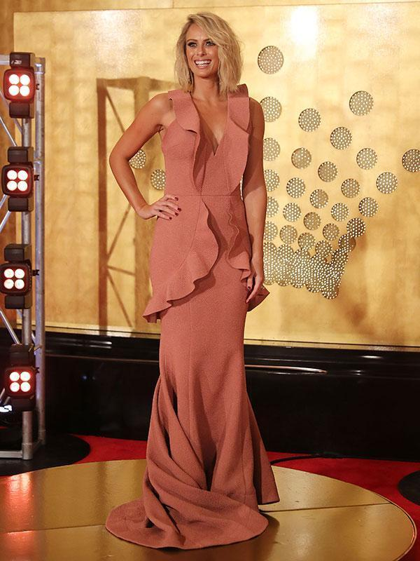 Vagina dresses seem to be all the rage on the red carpet (and we like this on Sylvia) BUT social media had a field day with this pale pink gown.