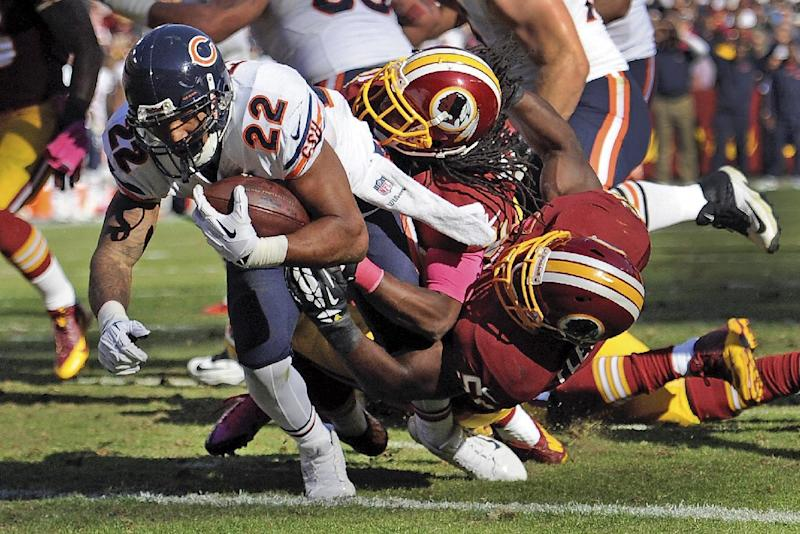 Redskins S Meriweather's suspension down to 1 game
