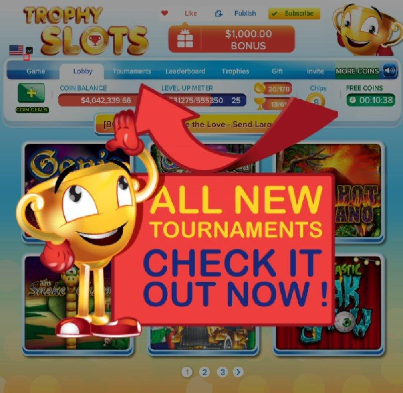Play Gold Trophy 2 Slots Here for Free