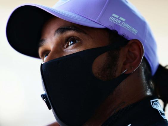 Lewis Hamilton's Mercedes contract is up for renewal in five months (Getty)