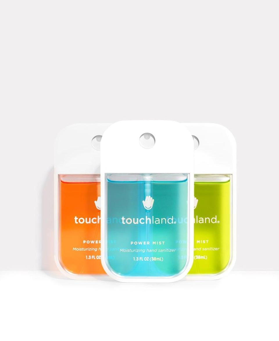 <p>The <span>Touchland Spray Sanitizer Bundle</span> ($50, originally $60 for five) comes in a bunch of different flavors and you can buy a whole pack.</p>