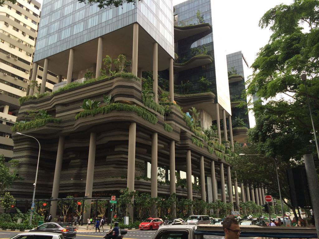 """<p>In total, the multilevel landscaped gardens cover an area more than twice the size of the building's footprint. (Photo: <a href=""""http://www.parkroyalhotels.com/"""">PARKROYAL Hotels</a>)<br /></p>"""