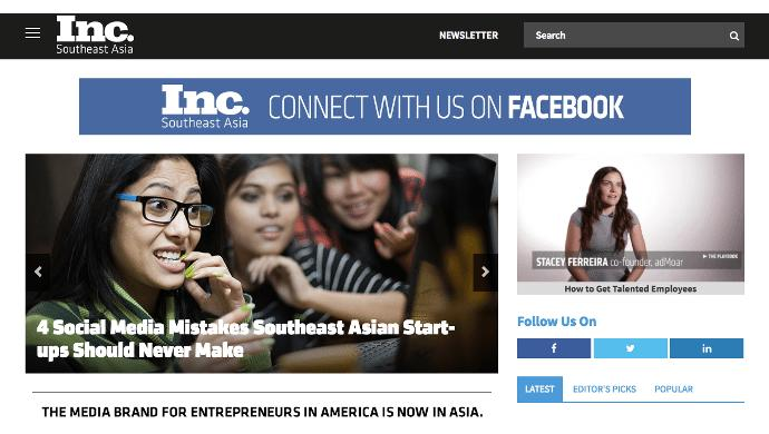 Sycamore raises US$1.2M to grow Southeast Asian chapter of Inc.