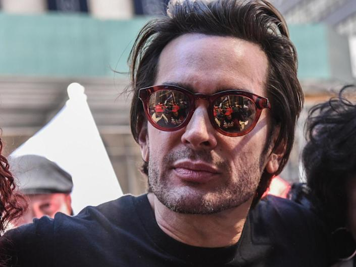Brandon Straka, founder of the 'WalkAway' movement, attends a rally in support of US President Donald Trump: (Getty Images)