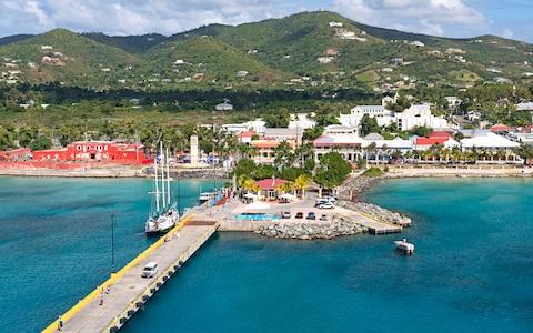 St Croix cruise pier leading to Frederiksted - Credit: iStock
