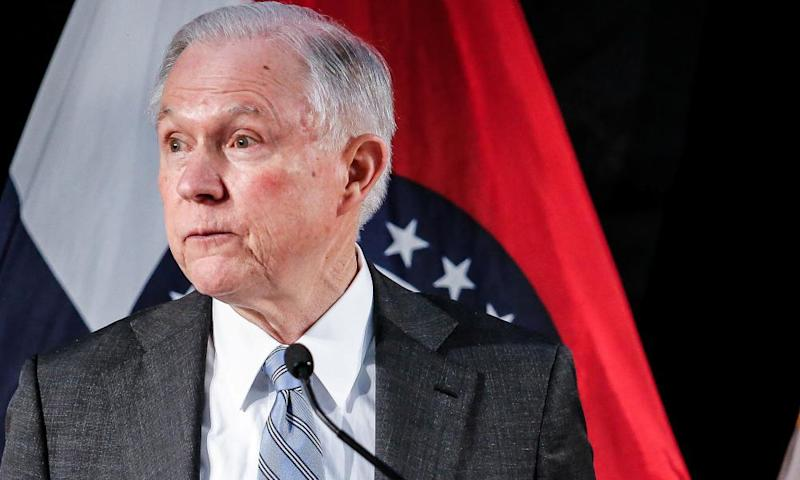 US attorney general Jeff Sessions is the other Trump ally to remove himself from the varied Russia investigations.
