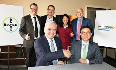 WuXi Biologics and Bayer Enter into an Acquisition Agreement on a Drug Product Plant in Germany (PRNewsfoto/WuXi Biologics)