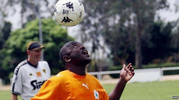 Mr Nkurunziza was passionate about football