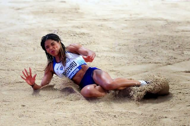 Abigail Irozuru has qualified for the long jump final (Mike Egerton/PA)