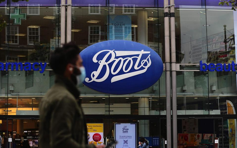 Boots to stock testing kits which can provide results within 12 minutes - Bloomberg