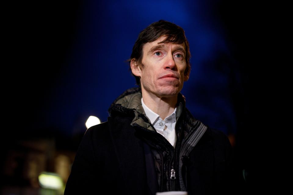 Rory Stewart, independent candidate for Mayor of London in the upcoming 2020 election, speaks to AFP during a campaigning event in Highgate, north London on February 25, 2020. - Two decades ago, Rory Stewart walked across Afghanistan, staying with locals along the way. Now he is deploying the same approach to his bid to become mayor of London. (Photo by TOLGA AKMEN / AFP) / TO GO WITH AFP STORY BY ALICE RITCHIE (Photo by TOLGA AKMEN/AFP via Getty Images)