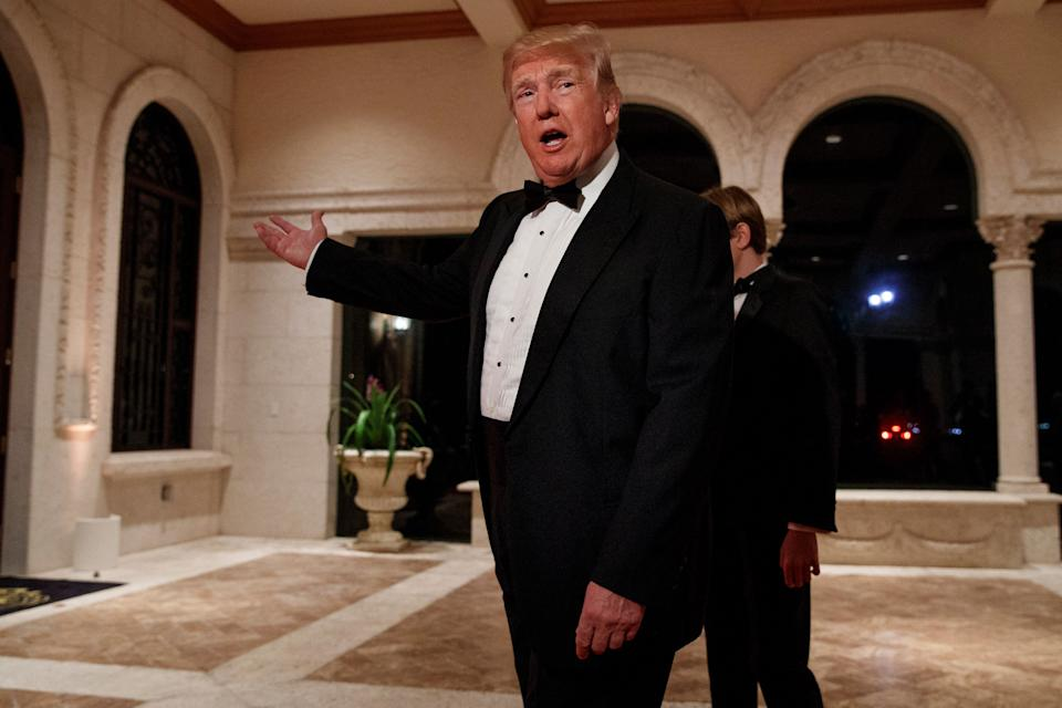 President Donald Trump's Mar-a-Lago in Palm Beach, Florida, will host two Republican National Committee fundraisers on March 8 and 10. The RNC paid the resort $224,858 for a similar weekend last year. (Photo: ASSOCIATED PRESS)