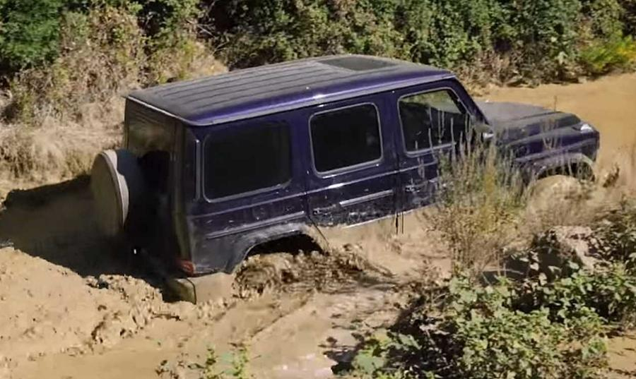 <strong>Mercedes G63 AMG (Rs 2.1 cr)-</strong> The new G63 AMG is perhaps the only performance SUV in the planet that can do some really tough off-roading. It not only has serious performance capability but also a 700mm wading depth.