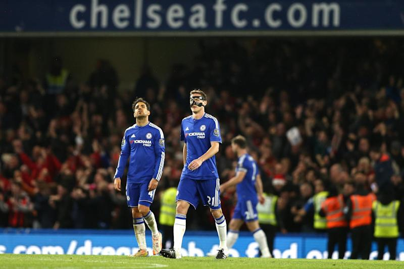 Selection dilemma: Cesc Fabregas (left) and Nemanja Matic (right): AFP/Getty Images